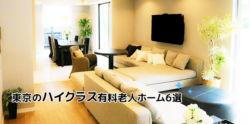 東京の高級有料老人ホーム6選