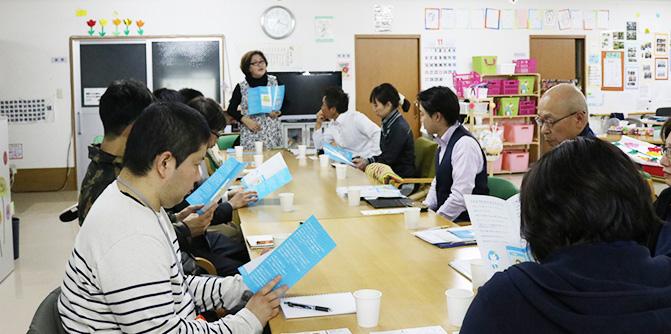デイサービス事業所の勉強会に参加しました