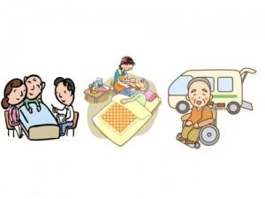 訪問看護   訪問介護    デイサービス