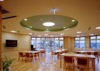 1階の食堂談話室です