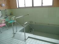 共同浴室 別に個浴もあります