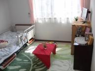 【居室イメージ】使い慣れたものをお持込頂き、ご自由にお使いください。