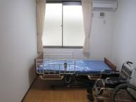 居室 お部屋はプライバシーを大切にした完全個室。他のご入居者様とたっぷり語り合った後は、ここで心をのんびりと落ち着けてください
