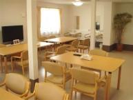 【食堂】お食事以外のときもくつろぎのスペースとしてご利用ください。