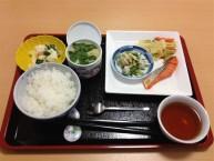 【お食事一例】嚥下機能に合わせ、きざみ食・ミキサー食をご用意しています。