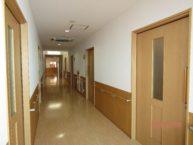 廊下は両サイドに手すり付きで歩行も安心です