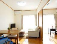 居室は自分らしく過ごせるリラックス空間となっています。