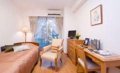シングルルーム。住み続けたいという気持ちにこたえてくれる快適な空間です。