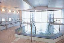 3つの温泉風浴場