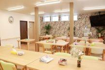 開放的な食堂